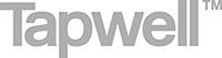 foretaget-tapwell-logotyp-svartvit